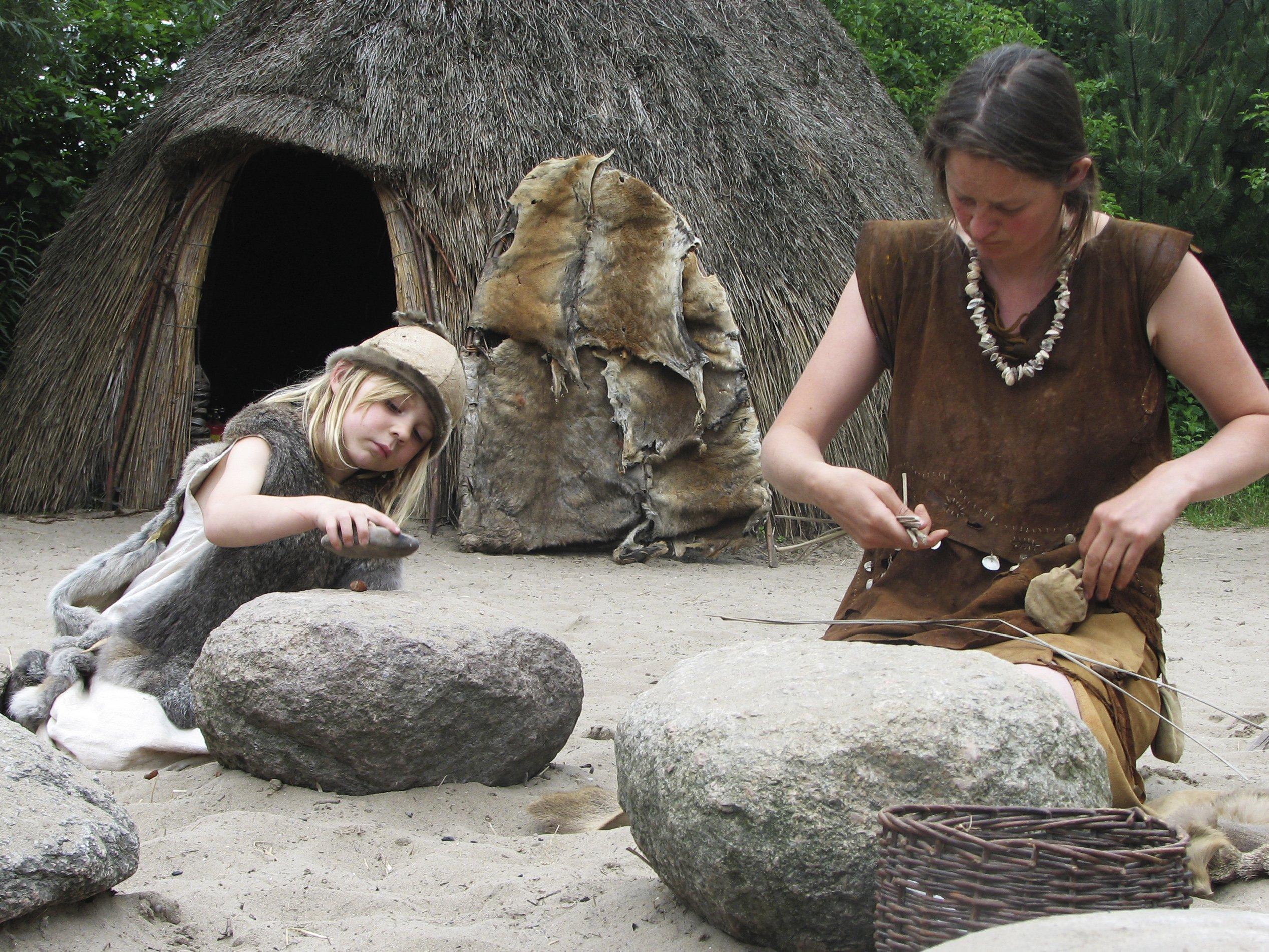 famiglia preistorica